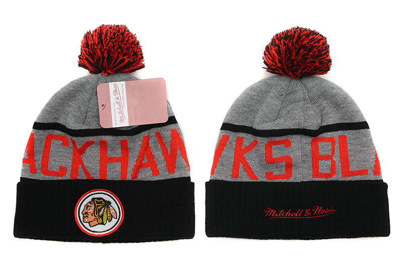 NHL Chicago Blackhawks Beanie Grey SD